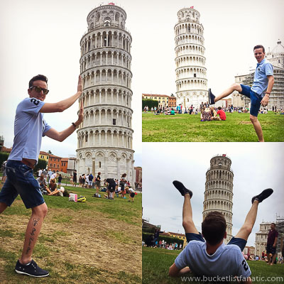 The Leaning tower in Pisa - Bucket List