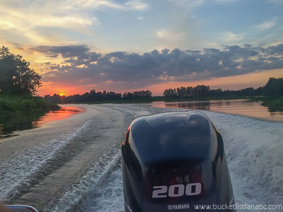 Sail up Mekong River - Bucket List