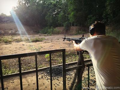 Shoot with LMG, Bucket List