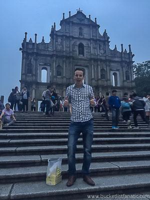 St. Paul Church, Macau - Bucket List