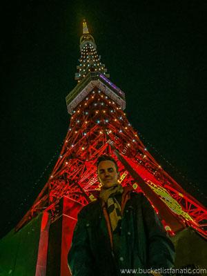 Tokyo Tower, Japan - Bucket List