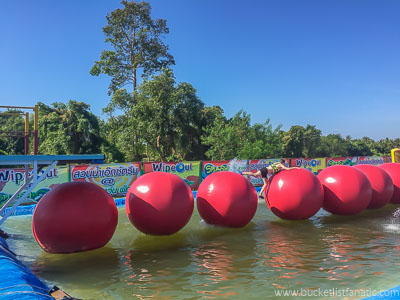 Wipeout Obstacle Course, Bucket List