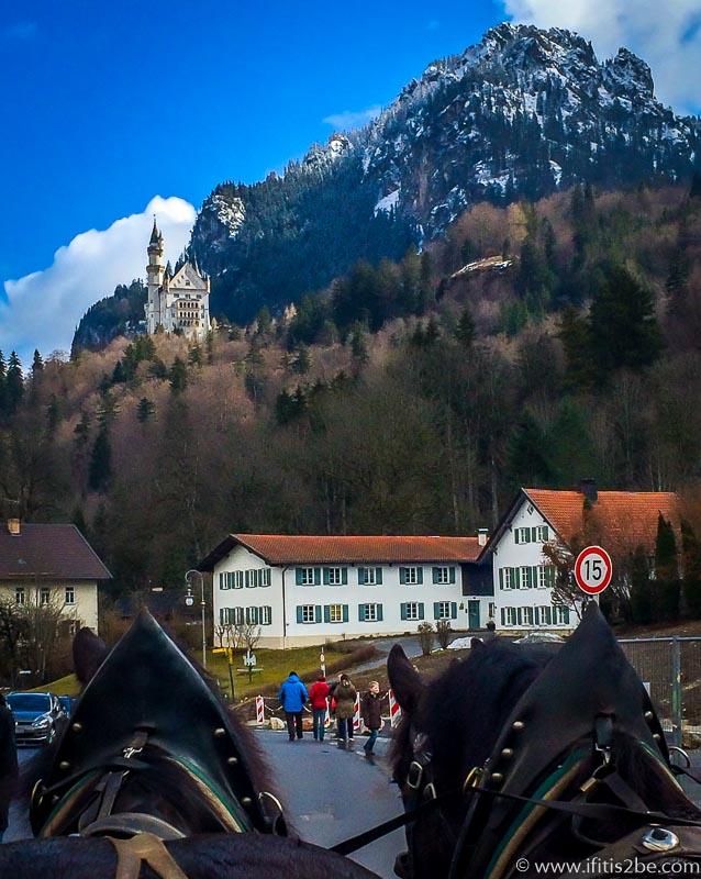 Horse-Ride-Neuschwanstein-Germany