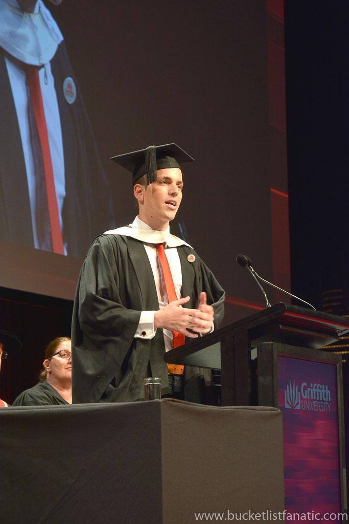 Graduation - Valedictorian - Australia
