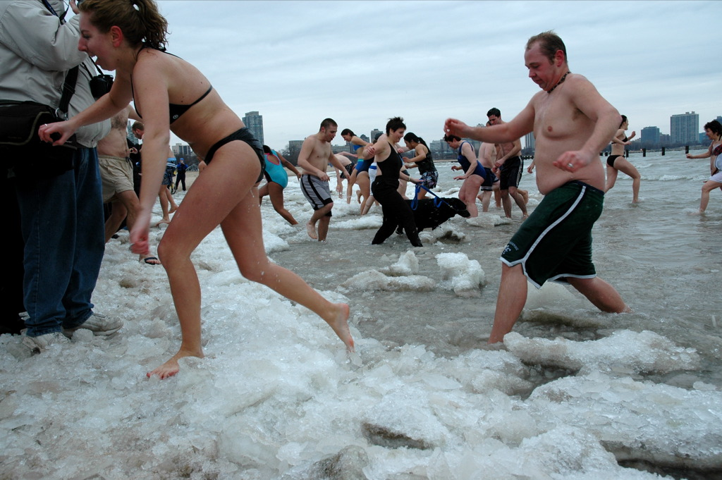 Ice Swimming - 50+ Heart-Pounding, Thrilling Activities for Daredevils