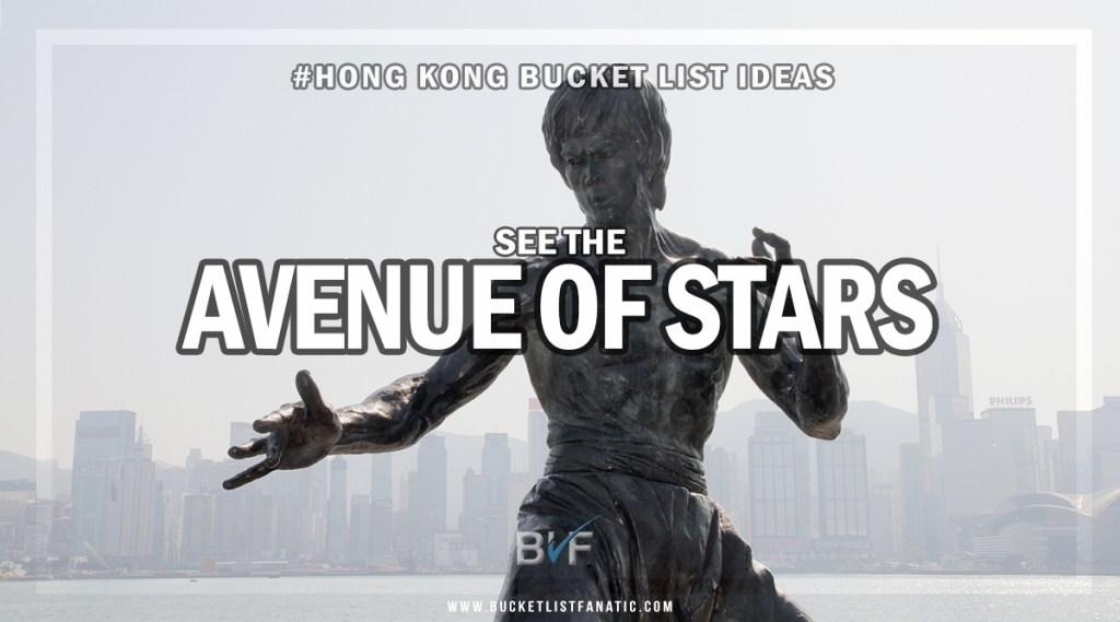Hong Kong Bucket List - Avenue of Stars
