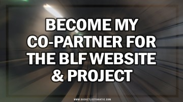 Become My Co-Partner for the BLF Website and Project