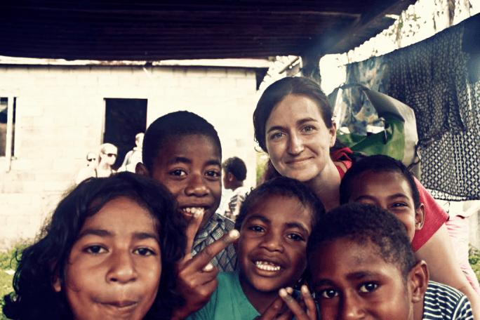 Friendly Fijian Children