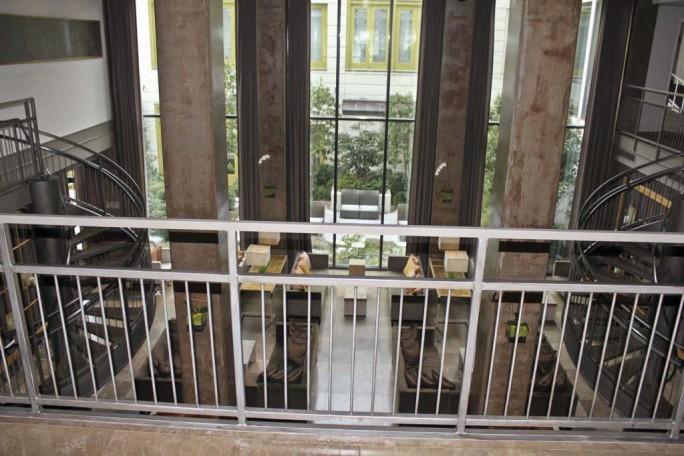 Huge Windows at Proximity Hotel