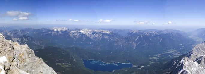 Mount Zugspitze View