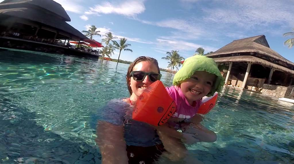 Pool Fun at Constance Le Prince