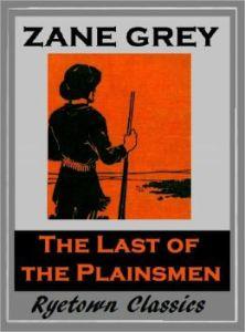 last plainsmen book