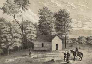 19th century rendering of Shiloh Church.