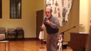 Rick Sowash in Wyoming, Ohio on January 23, 2014.