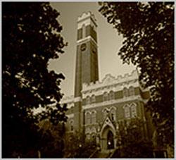 Vanderbilt University's Kirkland Hall.