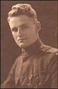 William March in the Marine Corps in World War One.