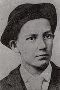 Sherwood Anderson as a boy.
