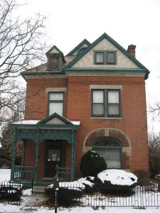 Thurber House in Columbus, Ohio.