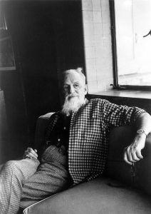 Rex Stout in 1975.