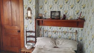 Paul Dunbar's bedroom.