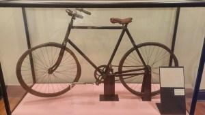 Paul Dunbar's bicycle.