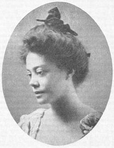 Alice Ruth Moore, Dunbar's wife, later known as Alice Dunbar-Nelson.