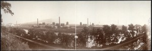 An example of American industry: Bethlehem Steel around 1896.