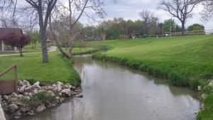 "Raccoon Creek, or Coon Creek, the ""Wine Creek"" of ""Winesburg, Ohio. """