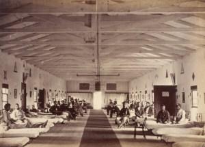 Armory Square Hospital in Washington, D.C.