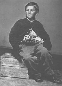 William Black, believed to be the youngest soldier injured in the Civil War.