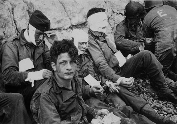 A Long Thin Line Of Personal Anguish Ernie Pyle On The Normandy