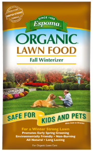 Organic Lawn Care Fall Winterizer