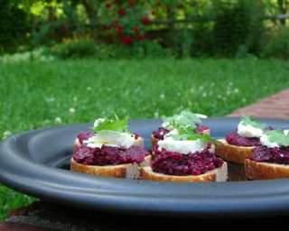 Beet Pesto copyright A Veggie Venture
