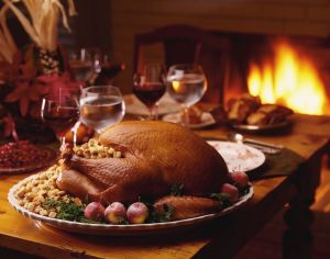 Roast Turkey and Stuffing, MSClipArt