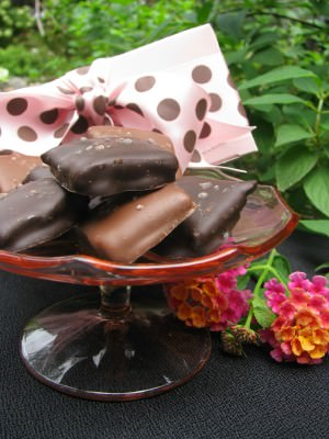 Sea Salt Toffee by Laurie's Chocolates; photo courtesy of UniquelyBucks