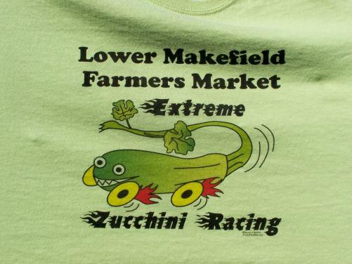 Zucchini Race t-shirt