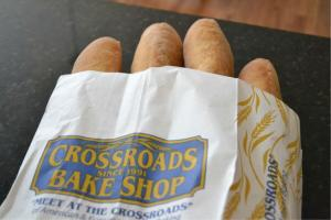 Bread from Crossroads Bakery