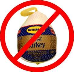 No frozen turkey