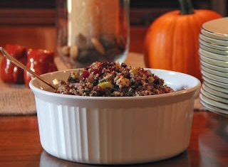 Quinoa pilaf; photo by H. Kirby
