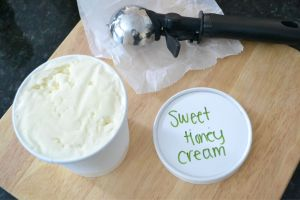 Sweet Honey Ice Cream; photo by K. Madey