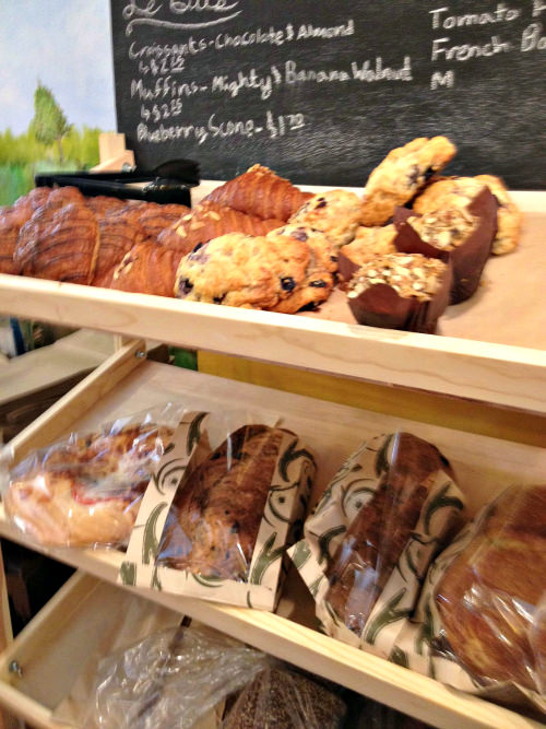 LeBus baked goods; photo by Kelly Madey