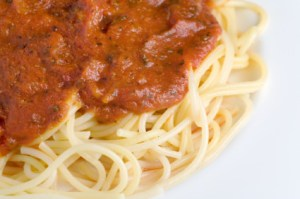 Spaghetti and Tomato Sauce