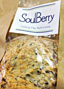 SoulBerry sourdough bread
