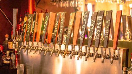 Churchville Inn taps_photo courtesy of Churchville Inn