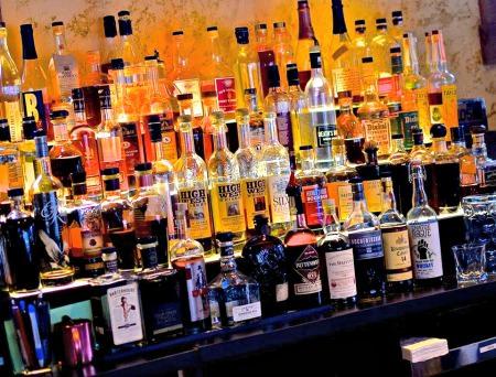 Churchville Inn whiskies_photo courtesy of the Churchville Inn