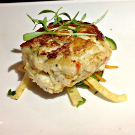Chef Alan's crabcake