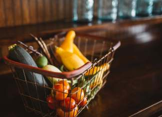 Basket of Healthy Food, Brooke Cagle: Unsplash