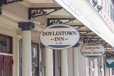 Doylestown Inn Sign, Doylestown Inn