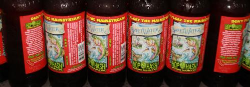 Hop n Hash beer, SweetWater beer