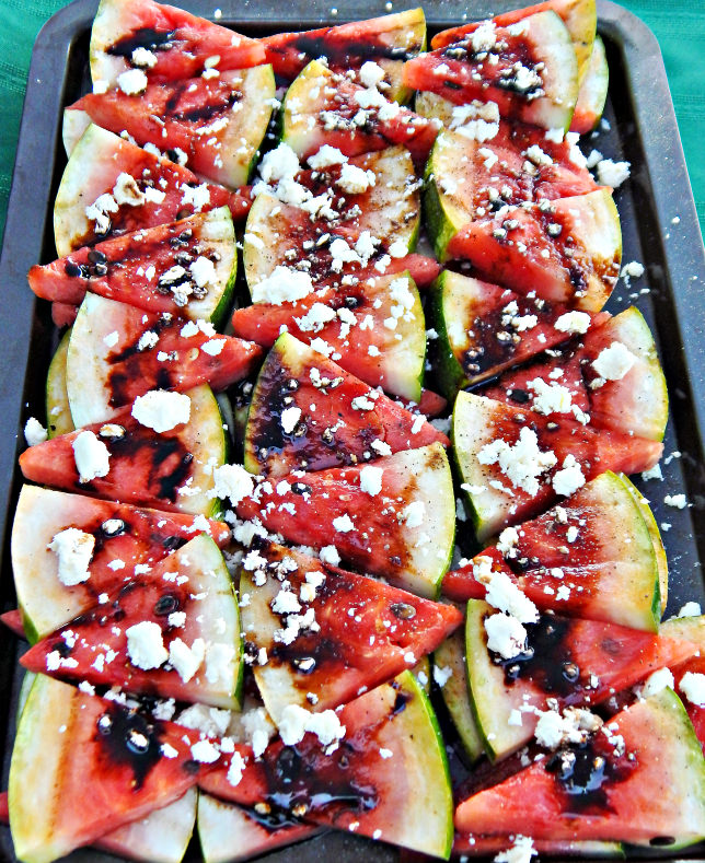 Recipes for the season: Grilled Watermelon with Balsamic Reduction